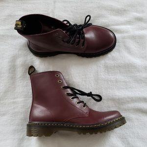 Women's Dr. Martens Luana Cherry Red Sz 11 Boots